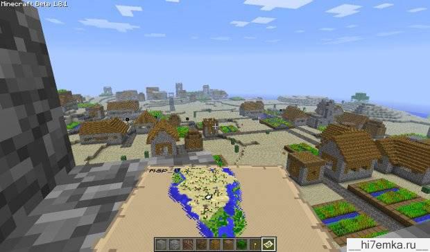 Как сделать чтобы в minecraft в мире было пусто
